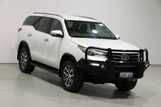 2016 Toyota Fortuner GUN156R Crusade White 6 Speed Automatic Wagon