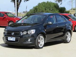 2013 Holden Barina TM MY13 CDX Black 6 Speed Automatic Sedan