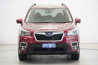2018 Subaru Forester S5 MY19 2.5i Premium CVT AWD Crimson Red 7 Speed Constant Variable Wagon.