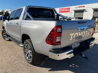 2016 Toyota Hilux GUN126R SR5 Double Cab Silver Sky 6 Speed Sports Automatic Utility