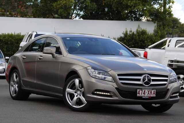 Used Mercedes-Benz CLS-Class C218 MY13.5 CLS350 Coupe 7G-Tronic + Mount Gravatt, 2013 Mercedes-Benz CLS-Class C218 MY13.5 CLS350 Coupe 7G-Tronic + Grey 7 Speed Sports Automatic