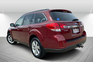 2013 Subaru Outback B5A MY13 2.5i Lineartronic AWD Premium Red/Black 6 Speed Constant Variable Wagon