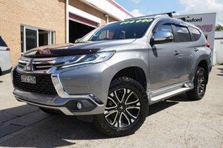 2017 Mitsubishi Pajero Sport QE MY17 GLX Grey 8 Speed Sports Automatic Wagon.