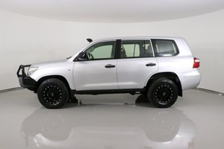 2015 Toyota Landcruiser VDJ200R MY13 GX (4x4) Silver 6 Speed Automatic Wagon