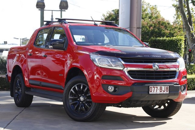 Used Holden Colorado RG MY18 Z71 Pickup Crew Cab Toowoomba, 2017 Holden Colorado RG MY18 Z71 Pickup Crew Cab Red 6 Speed Sports Automatic Utility