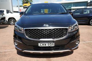 2017 Kia Carnival YP MY17 Platinum Black 6 Speed Automatic Wagon