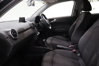2013 Audi A1 8X MY14 Attraction Sportback S Tronic Black 7 Speed Sports Automatic Dual Clutch