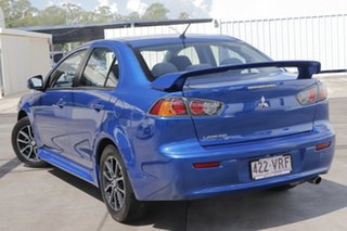 2015 Mitsubishi Lancer CJ MY15 ES Sport Blue 6 Speed Constant Variable Sedan.