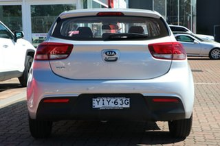 2017 Kia Rio YB MY18 S Silver 4 Speed Sports Automatic Hatchback