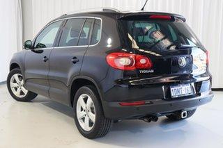 2010 Volkswagen Tiguan 5N MY10 147TSI 4MOTION Black 6 Speed Sports Automatic Wagon.