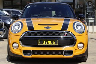 2014 Mini Hatch F56 Cooper S Orange 6 Speed Manual Hatchback.