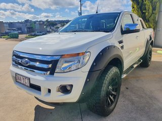 2015 Ford Ranger PX MkII XLT Super Cab White 6 Speed Manual Utility