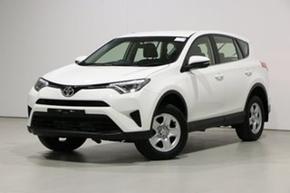 2015 Toyota RAV4 ASA44R MY14 Upgrade GX (4x4) White 6 Speed Automatic Wagon.
