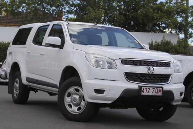 Used Holden Colorado RG MY15 LS Crew Cab Mount Gravatt, 2015 Holden Colorado RG MY15 LS Crew Cab White 6 Speed Sports Automatic Utility