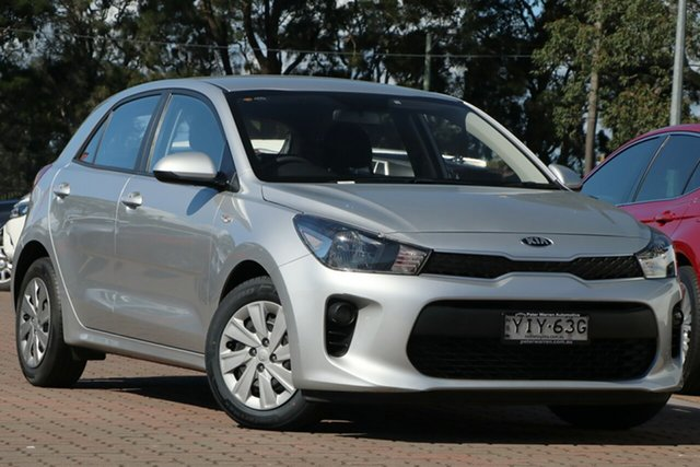 Pre-Owned Kia Rio YB MY18 S Warwick Farm, 2017 Kia Rio YB MY18 S Silver 4 Speed Sports Automatic Hatchback