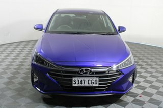 2020 Hyundai Elantra AD.2 MY20 Active Blue 6 Speed Sports Automatic Sedan.