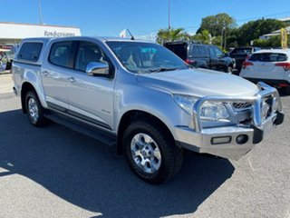 2012 Holden Colorado RG MY13 LTZ Crew Cab 4x2 Silver 6 Speed Sports Automatic Utility.