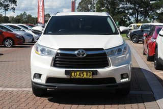 2016 Toyota Kluger GSU50R GXL 2WD White 6 Speed Sports Automatic SUV
