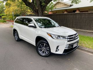 2017 Toyota Kluger GSU50R GXL 2WD Crystal Pearl 8 Speed Sports Automatic Wagon.