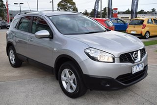 2012 Nissan Dualis J107 Series 3 MY12 +2 Hatch X-tronic 2WD ST Silver 6 Speed Constant Variable.