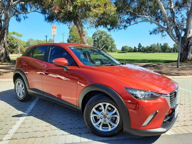 Used Mazda CX-3 DK2W7A Maxx SKYACTIV-Drive Adelaide, 2016 Mazda CX-3 DK2W7A Maxx SKYACTIV-Drive Red 6 Speed Sports Automatic Wagon