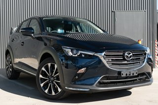 2021 Mazda CX-3 DK2W7A sTouring SKYACTIV-Drive FWD Deep Crystal Blue 6 Speed Sports Automatic Wagon.