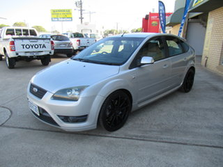 2007 Ford Focus LS XR5 Turbo Silver 6 Speed Manual Hatchback.