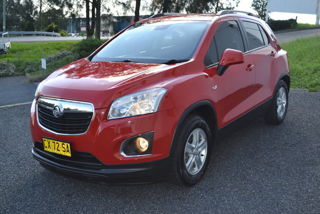 Used Holden Trax TJ MY15 LS Maitland, 2015 Holden Trax TJ MY15 LS Red 5 Speed Manual Wagon