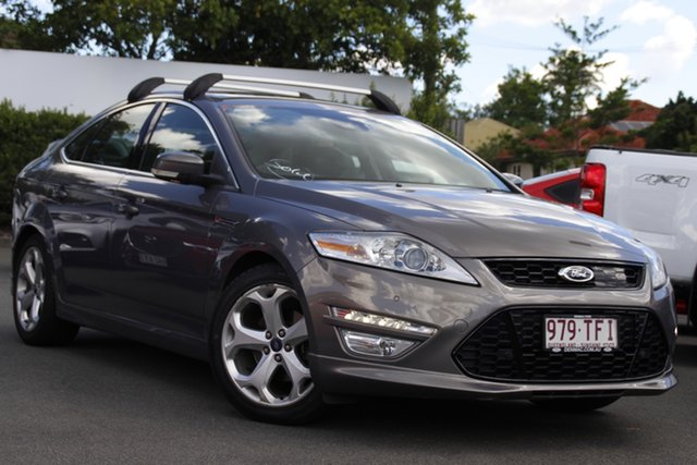 Used Ford Mondeo MC Titanium TDCi Mount Gravatt, 2012 Ford Mondeo MC Titanium TDCi Brown 6 Speed Sports Automatic Dual Clutch Hatchback