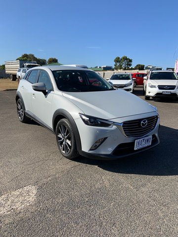 Used Mazda CX-3 DK2W7A sTouring SKYACTIV-Drive Warrnambool East, 2017 Mazda CX-3 DK2W7A sTouring SKYACTIV-Drive Ceramic 6 Speed Sports Automatic Wagon