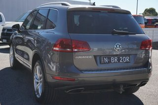 2012 Volkswagen Touareg 7P MY13 V6 TDI Tiptronic 4MOTION Grey 8 Speed Sports Automatic Wagon