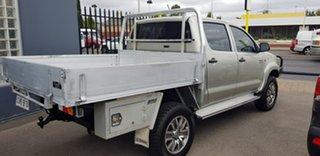 2012 Toyota Hilux KUN26R MY12 SR (4x4) Silver 5 Speed Manual Dual Cab Pick-up
