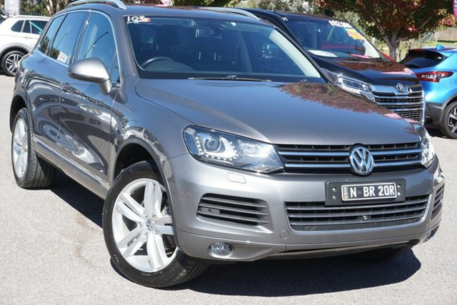 Used Volkswagen Touareg 7P MY13 V6 TDI Tiptronic 4MOTION Phillip, 2012 Volkswagen Touareg 7P MY13 V6 TDI Tiptronic 4MOTION Grey 8 Speed Sports Automatic Wagon