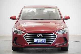 2016 Hyundai Elantra AD MY17 Active Red 6 Speed Sports Automatic Sedan.