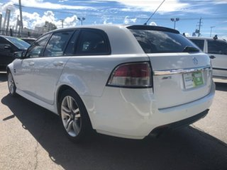 2010 Holden Commodore VE MY10 SV6 White 6 Speed Automatic Sportswagon