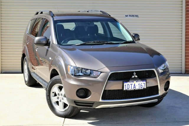 Used Mitsubishi Outlander ZH MY11 LS 2WD Mount Lawley, 2011 Mitsubishi Outlander ZH MY11 LS 2WD Bronze 6 Speed Constant Variable Wagon