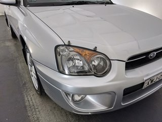 2004 Subaru Impreza S MY04 GX AWD Silver 5 Speed Manual Sedan.