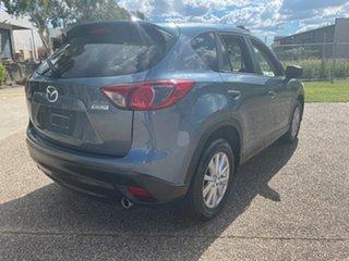 2015 Mazda CX-5 MY13 Upgrade Maxx Sport (4x2) Blue 6 Speed Automatic Wagon.