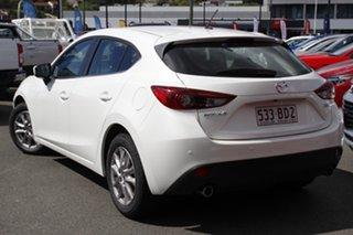 2015 Mazda 3 BM5478 Touring SKYACTIV-Drive White 6 Speed Sports Automatic Hatchback.