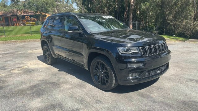 New Jeep Grand Cherokee WK MY21 S-Limited Port Macquarie, 2021 Jeep Grand Cherokee WK MY21 S-Limited Diamond Black Crystal 8 Speed Sports Automatic Wagon