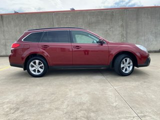 2013 Subaru Outback B5A MY13 2.5i Lineartronic AWD Premium Red/Black 6 Speed Constant Variable Wagon.