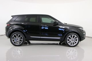 2016 Land Rover Range Rover Evoque LV MY16.5 TD4 180 HSE Black 9 Speed Automatic Wagon