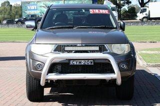 2010 Mitsubishi Triton MN MY11 GLX-R Double Cab Gunmetal 5 Speed Sports Automatic Utility