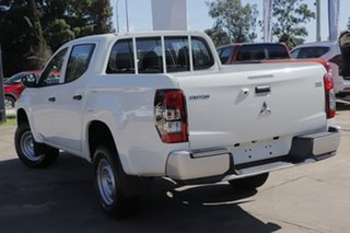 2021 Mitsubishi Triton MR MY21 GLX Double Cab ADAS White 6 Speed Sports Automatic Utility.