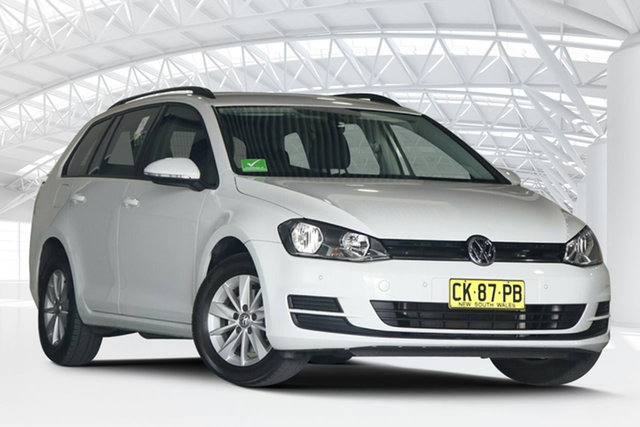 Used Volkswagen Golf AU MY17 92 TSI Trendline Moorebank, 2016 Volkswagen Golf AU MY17 92 TSI Trendline White 7 Speed Auto Direct Shift Wagon