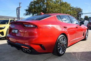 2019 Kia Stinger CK MY19 330S Fastback Hichroma Red/black 8 Speed Sports Automatic Sedan
