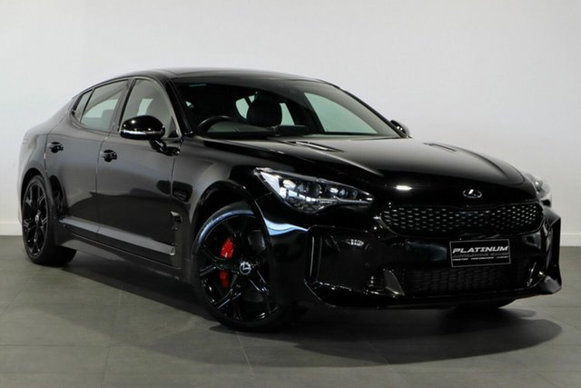 Used Kia Stinger CK MY18 GT Fastback Bayswater, 2018 Kia Stinger CK MY18 GT Fastback Black 8 Speed Sports Automatic Sedan
