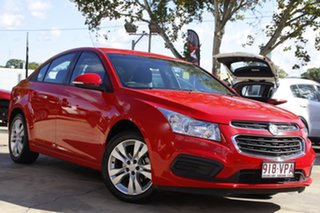2015 Holden Cruze JH Series II MY15 Equipe Red Hot 6 Speed Sports Automatic Sedan.
