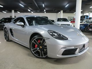 2017 Porsche 718 982 MY17 Cayman PDK S GT Silver 7 Speed Sports Automatic Dual Clutch Coupe