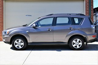 2011 Mitsubishi Outlander ZH MY11 LS 2WD Bronze 6 Speed Constant Variable Wagon
